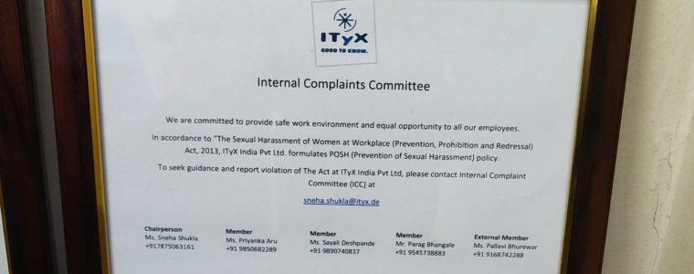 POSH Training (Employee Awareness)-ITyX India Pvt. Ltd.